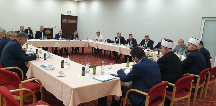 Reisu-l-ulema Husein ef. Kavazović predstavio program kandidature u Zenici