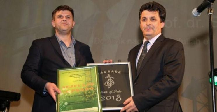 Senadin Lavić dobitnik nagrade 'Sejfullah ef. Proho'