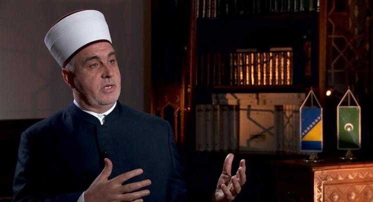 Reisu-l-ulema dr. Husein ef. Kavazović u posjeti Briselu